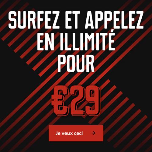 illimité pour 29€