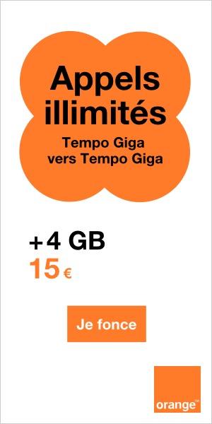 carte prépayée orange