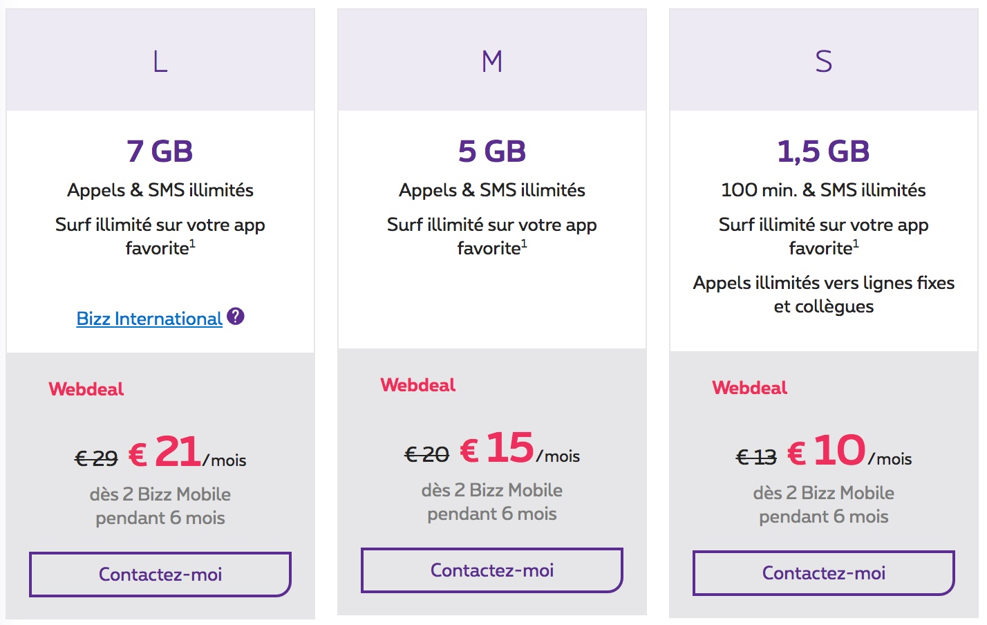 abonnement proximus professionel